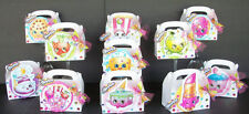12pc SHOPKINS FAVOR BOXES + BOW HAIR CLIP ON EACH BOX BIRTHDAY PARTY HAND MADE