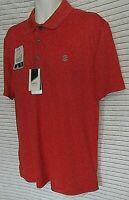 IZOD Men's XXL Sport Swing Flex  UPF-20 Golf Polo Shirt New Tags Aurora Red