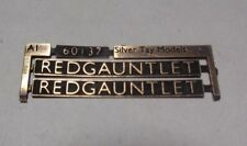 00 Gauge (4mm) nameplate:60137 'Redgauntlet' LNER A1 - suit Hornby/bachman