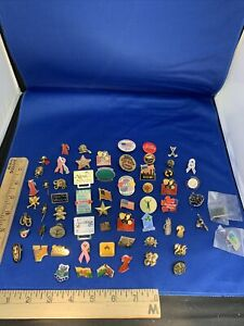 Lapel Pin LOT Travel Organization Lapel PINS Hat Pin Lot