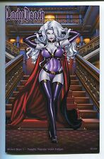 Lady Death Wicked Ways #1 NAUGHTY Majestic Violet Variant Richard Ortiz Cover