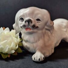 Vintage Dog Figurine ARPO Made in Romania Collectible Dog Ugly Sad Dog Figurine