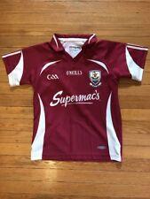 O'NEILLS Ireland Irish GAILLIMH Hurling Football Jersey Kit Boys 7-8 Soccer
