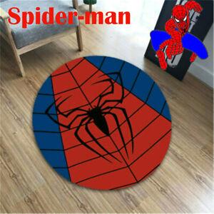 Superhero Floor Rug Avengers Room Bath Bedroom Mat Home Non-Slip Mats Decor Gift