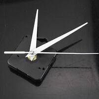 Neu Quarz Uhrwerk Mechanismus Lange Spindel Silber Hand Reparatur Teile Sch F1E5