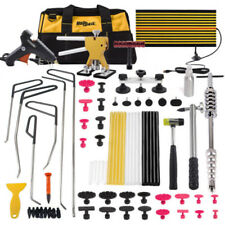 PDR Tools Hail Dent Lifter Paintless Repair Hammer Removal Puller Rods+Stick Kit