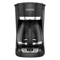 Black Decker 220 240 Volt 12-Cup Programmable Coffee Maker (Not For Use in USA)