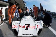 Carlos Reutemann Brabham BT44 Spanish Grand Prix 1974 Photograph