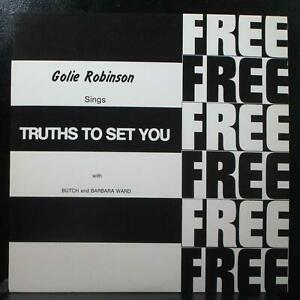 Golie Robinson - Truths To Set You Free Mint- LP Vivace V 1001 USA