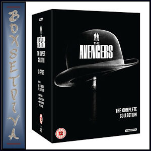 THE AVENGERS - THE COMPLETE COLLECTION - SERIES 1 2 3 4 5 & 6 *BRAND NEW DVD**