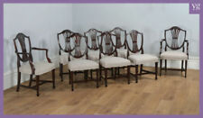 Mahogany Georgian Dining Chairs Antique Chairs
