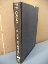 Orwell, the War Broadcasts by George Orwell and W.J. West (1985) Paperback Illus