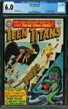 Teen Titans #1 CGC 6.0 DC 1966 Batman Flash Wonder Woman Cameo! K12 216 cm clean