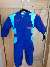 COLUMBIA SKI SNOW SUIT  KIDS 4T  BLUE AND RED