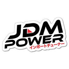 Jdm Power Import Tuner Sticker Decal JDM Car Drift Vinyl Funny Turbo #5394EN