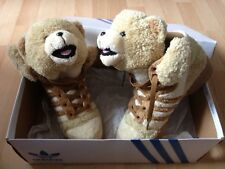 Adidas X Jeremy Scott JS Teddy Bear Sable Marron OG UK4/US4.5/EU36/22.5cm