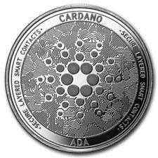 Bitcoin Cryptocurrency Cardano (ADA) - In Code We Trust 1 oz Silver BU Round