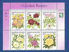 Marshall Islands (#729) 2000 Garden Roses MNH inscription block of 6