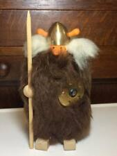 Vintage Akta skinn Viking figurine made in Sweden