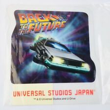 Back To The Future Delorean Plastic Postcard Universal Studios Japan