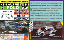 ANEXO DECAL 1/43 VOLKSWAGEN POLO R WRC A.MIKKELSEN R.ARGENTINA 2014 4th (12)