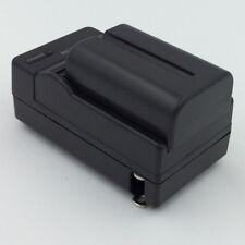 Battery + Charger for SONY Alpha DSLR-A200 A200K A300 A300K Digital SLR Camera