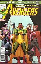 Avengers  #19  50TH ANNIVERSARY 1970's Decade  Variant Cover   INF
