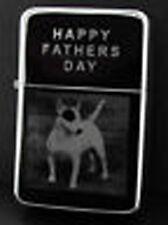 ENGLISH BULL TERRIER DOG  PHOTO ENGRAVED LIGHTER GIFT UK