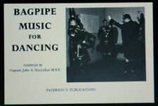 MACLELLAN BAGPIPE MUSIC FOR DANCING Book for highland pipes and dance