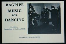 MacLellan Gaita música para bailar libro para Highland tubos y danza