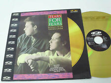 TEARS FOR FEARS Scenes From The Big Chair - Laser Disc LD - EX