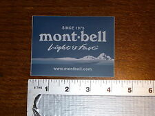 MontBell Sticker Decal