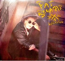 ++PAT BENATAR sex as a weapon/red vision SP 1985 EX++