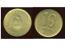 ARGENTINE 10 centavos 1994