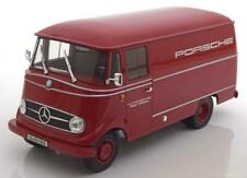 1:18 Norev Mercedes L319 Porsche Renndienst 1955 red
