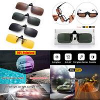 de conduite la vision de jour et de nuit clip vidéo sur des lunettes de soleil