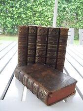 HISTOIRE GENERALE D'ESPAGNE 6 VOLUMES SET 1723  LEATHER