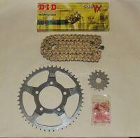 DID Gold X-Ring Chain & Sprocket Kit Suzuki GSF650 Bandit 07-11 GSX650 F 08-14