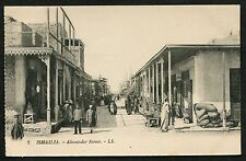C1930's Views of People in Alexander Street, Ismalia, Egypt