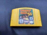 NINTENDO 64 GAME CARTRIDGE ONLY DONKEY KONG 64