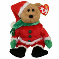 TY Beanie Baby - KRINGLE the Bear (8.5 inch) - MWMTs Stuffed Animal Toy