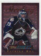 MINT! 1995-96 TOPPS FINEST STERLING NO. 145 PATRICK ROY COLORADO AVALANCHE