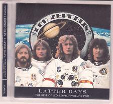 LED ZEPPELIN – LATTER DAYS THE BEST OF VOLUME 2 ENHANCED CD PAGE PLANT BONHAM