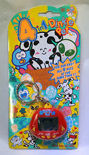 Dinkie Pet 4 in 1 Keychain Dino Giga Nano Virtual Pet Tamagotchi Rrakuraku Red