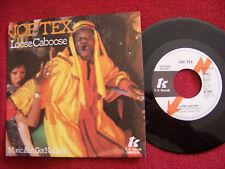 Joe TEX-Loose Caboose/Music Ain 't Got No color Top TK/CBS fulmine info 45