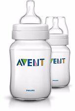 AVENT Classic+ Baby Feeding Bottles New Design, 2x 9 oz / 260 mL bottles SG-552