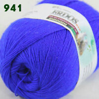 Sale 1 Skein x50gr LACE Soft Crochet Acrylic Wool Cashmere hand knitting Yarn 41