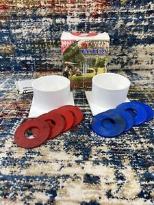 Vtg Ol' Time Washers Pitching Portable Backyard Beach Party Outdoor Washers Game