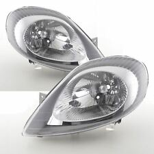 RENAULT TRAFIC 2001-2006 HEADLIGHTS HEADLAMPS 1 PAIR O/S & N/S