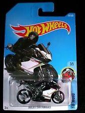 Hot Wheels Cars-Ducati 1199 panigal-black 2017